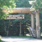 Mt. Rainier NP park entrance