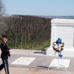 Tomb of the Unknown Soldier in Arlington National Cemetery in Washington, DC