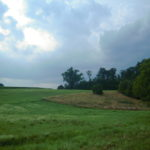 Storms were trying to push in during our trail ride at Buffalo Springs, Pennsylvania near Codorus State Park.